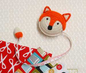 Orange Fox tape measure