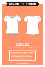 Load image into Gallery viewer, Grainline Studio Scout Tee