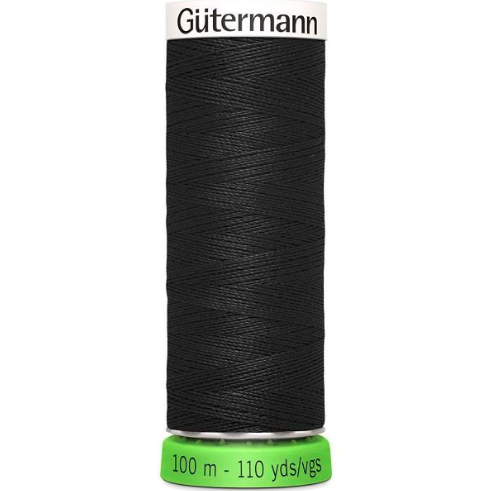 Gutermann recycled thread black