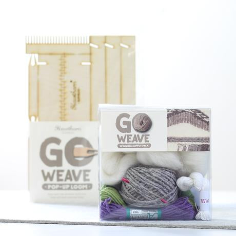 Go Weave loom kit heather and moss