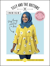 Load image into Gallery viewer, Tilly and the Buttons Indigo dress