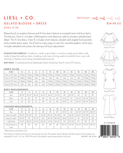 Liesl and Co Gelato Blouse and Dress