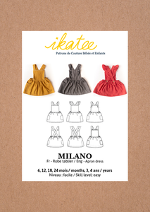 Ikatee Milano apron dress