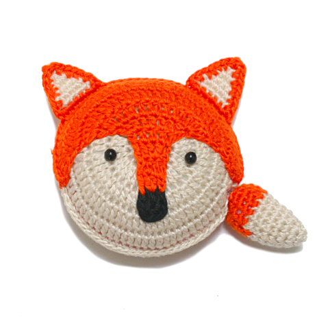 Retractable tape measure - Orange Fox