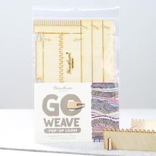 Load image into Gallery viewer, Go Weave loom kit coral and mint