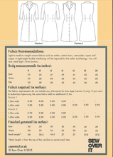 Load image into Gallery viewer, Sew Over It Vintage Shirt Dress pattern