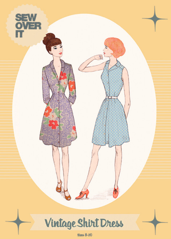 Sew Over It Vintage Shirt Dress pattern