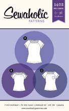 Load image into Gallery viewer, Sewaholic Belcarra blouse top pattern