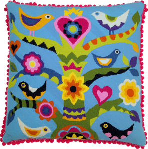 Emily Peacock Mexican Tree of Life tapestry kit
