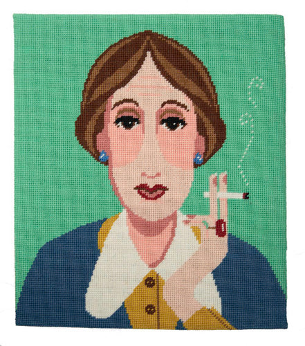 Emily Peacock tapestry kit - Virginia Woolf