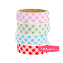 Load image into Gallery viewer, Gingham washi tape