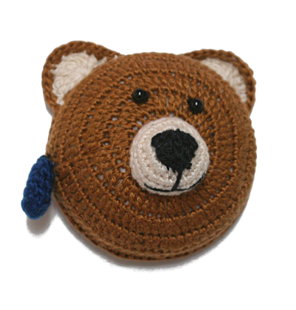 Retractable tape measure - Brown Bear