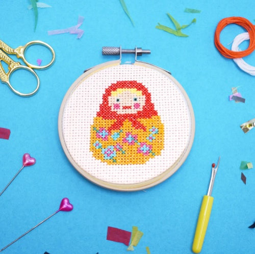 Make Arcade Doll Cross Stitch kit