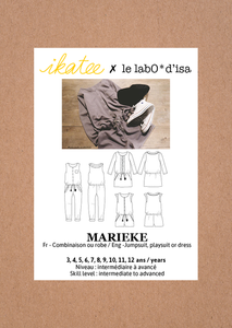 Ikatee Marieke playsuit pattern