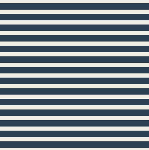 AGF Striped Alike Navy jersey fabric