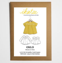 Load image into Gallery viewer, Ikatee Oslo dress blouse