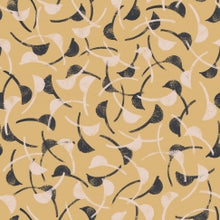 Load image into Gallery viewer, Atelier Brunette Windy Mustard fabric