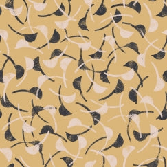Atelier Brunette Windy Mustard fabric