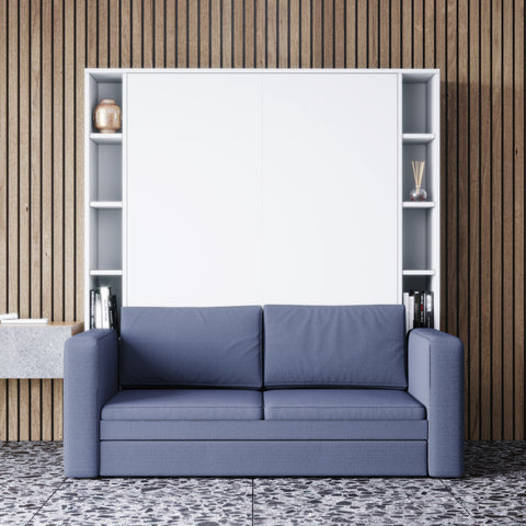 Murphy bed with sofa