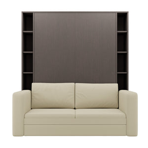 Luxoria Aruba Wenge with Shelves and Sofa