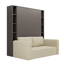 Load image into Gallery viewer, Luxoria Aruba Wenge with Shelves and Sofa