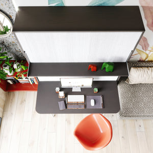 Elara Longa Comfort with Desk & Shelf