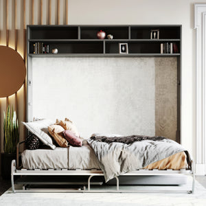 Miraldi Longa - Wall Bed With Sofa, Desk & Desk