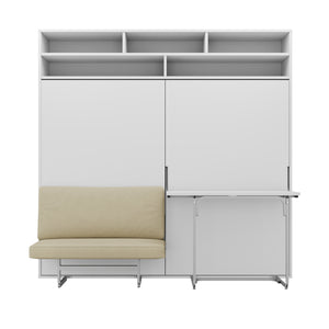 Miraldi Longa - Wall Bed With Sofa & Desk