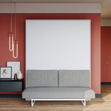 Load image into Gallery viewer, wall bed with sofa