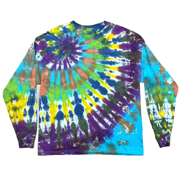 The Northern Lights Spiral Dye L/S