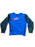 Nike Plaid Reborn L/S (XL)