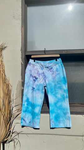 The Mermaid Ice Dye Capris