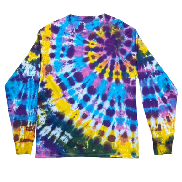 The Cotton Candy Spiral Tie Dye