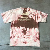 Indian Motorcycles Bleach Dyed Logo Graphic Tee