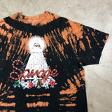 Young & Wild Savage Snake Graphic Bleach Tee