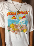 Abu Dabi Retro Distressed Tee