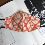 Kaleidoscope Batik Slim Mask
