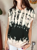 Chaps Bleach Dyed Sweater Vest