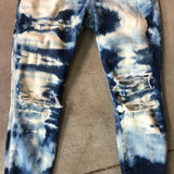 Joe's Jeans Bleach Distressed Skinny Jeans