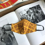 The Floral Batik Split Bandido Slim Mask