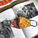 The Batik Split Bandido Oro Slim Mask