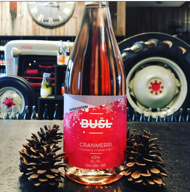 Winter Edition - CranMerri Cider - 750mL