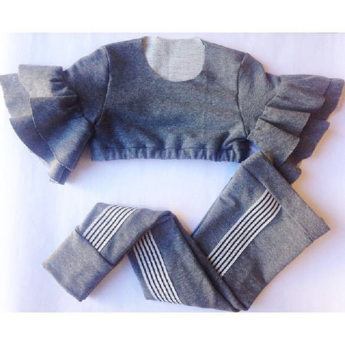 Life is better Cropped 2-Piece Set - Sizes (2T-6)