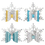 You're Snow Flaky Hair Pin - 4 different Colors (3.5 X 3.7 Inches) (BUY 2 GET 1 FREE)