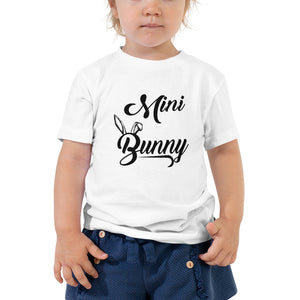 Mini Bunny Toddler Unisex High Quality Short Sleeve T-Shirt - Sizes (2T-5T)