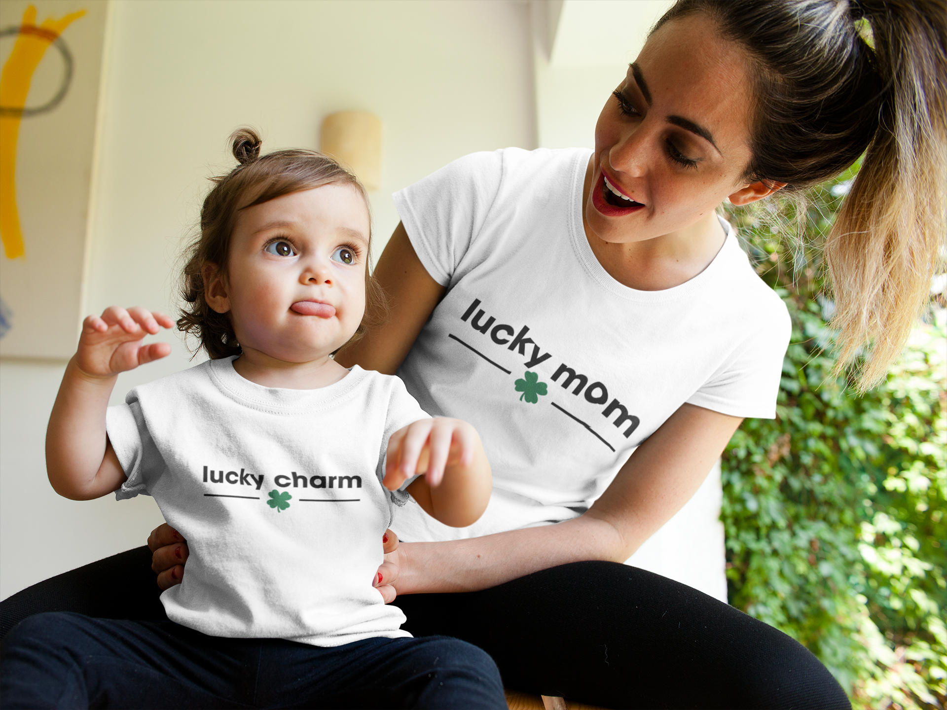 LUCKY CHARM UNISEX HIGH QUALITY SHIRT - SIZES (S - 2XL)