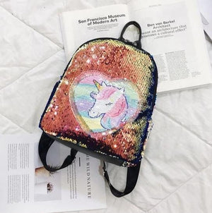 Unicorn Packing Sequins Backpack - 5 Different Color Variations (BUY 2 GET 1 FREE)