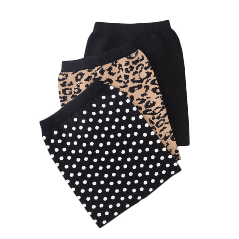Mini Me Knit Skirt - Sizes (2T-12) (5 different Color Variations)