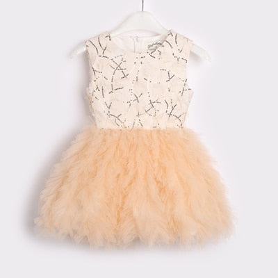 Fairy Tutu Dress - Sizes (12M-8) - Available in Black and Gold