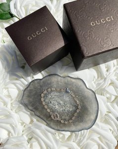 Gucci GG Flower Band Bracelet
